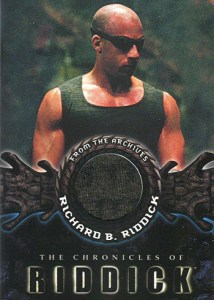 2004 Chronicles of Riddick Costume Card