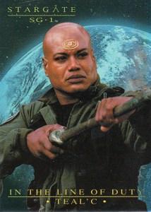 2005 Stargate SG-1 Season 7 In the Line of Duty Tealc