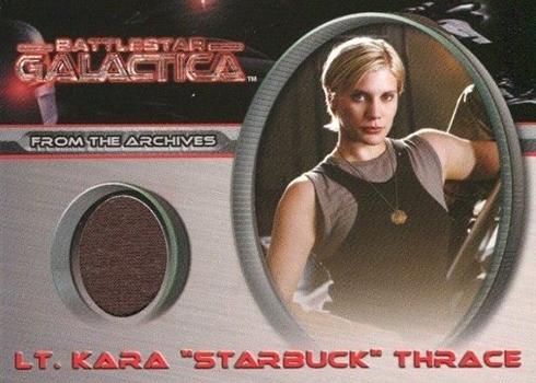 2005 Rittenhouse Battlestar Galactica Premiere Edition Costume Cards CC2 Starbuck