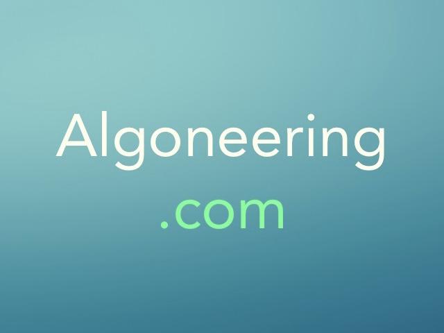 Algoneering