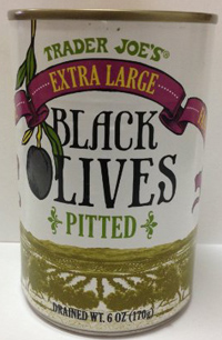 Trader Joes Extra Large Pitted Black Olives Reviews