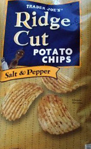 Trader Joes Salt  Pepper Ridge Cut Potato Chips Reviews