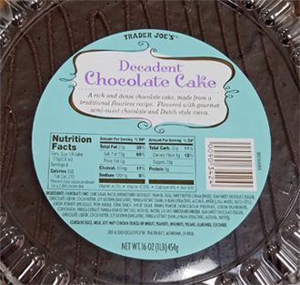 Trader Joes Decadent Chocolate Cake Reviews  Trader Joe