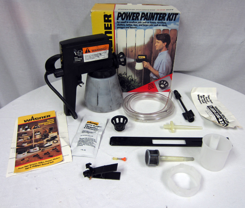 Wagner 0417005d Control Spray Power Paint Sprayer