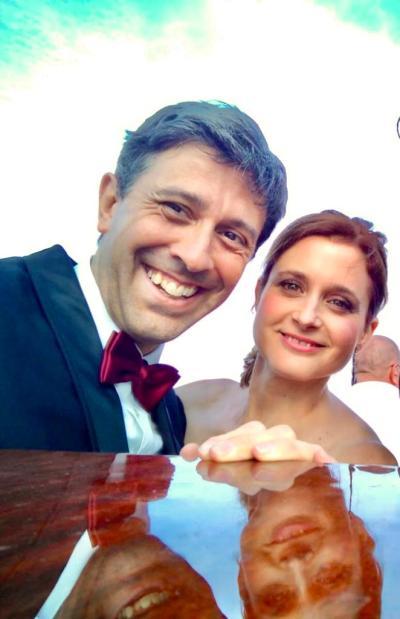 F2 Adelmo Togliani con Laura Beretta