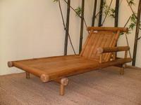 bamboo outdoor chairs chair arm covers dunelm relax garden furniture lounge beach bech craft