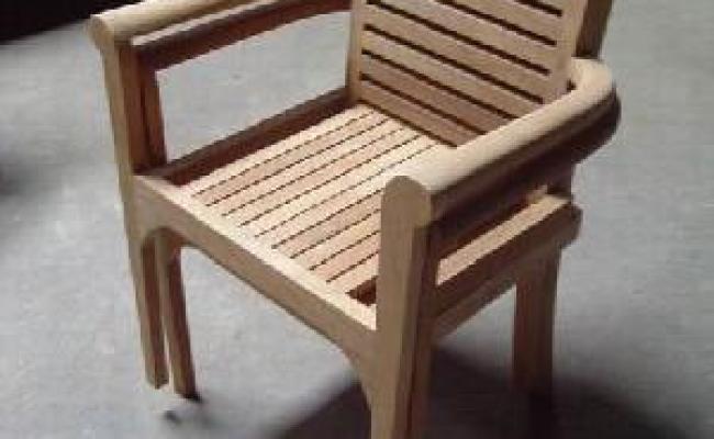 Teka Audia Stacking Chair Solo Jepara And Bali Teak