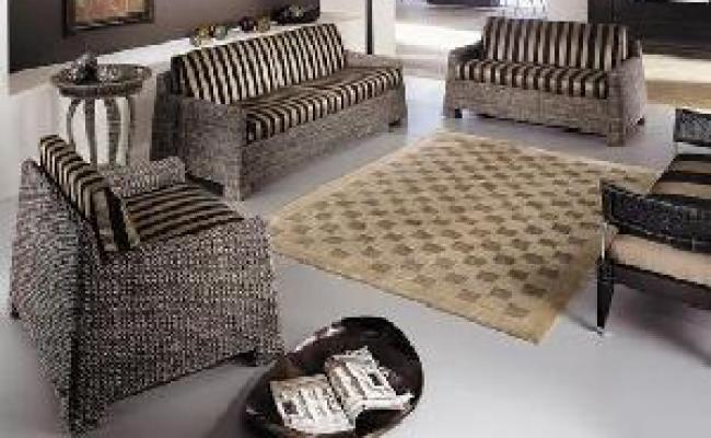 Full Sofa Living Set Furniture Banana Leaf Abaca Rattan