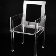 Lucite Acrylic Chairs Emco Navy Chair Elegant Leisure