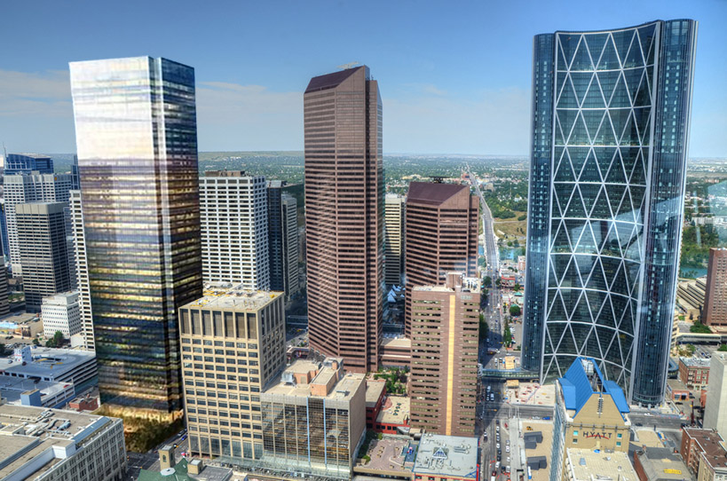 calgary skyscrapers