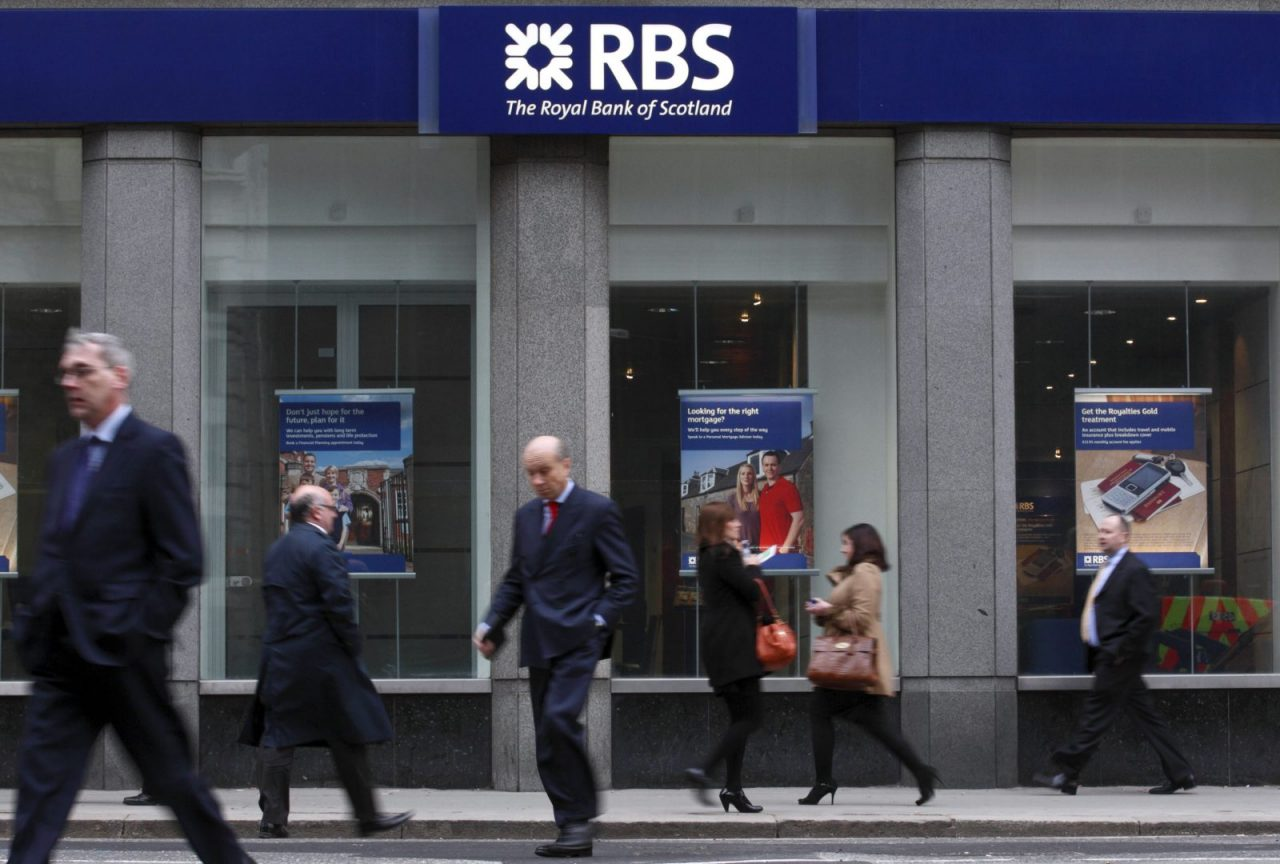Royal Bank Scotland tradersdna