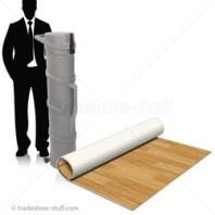 Flex Floor To Go Wood Rollable Trade Show Flooring