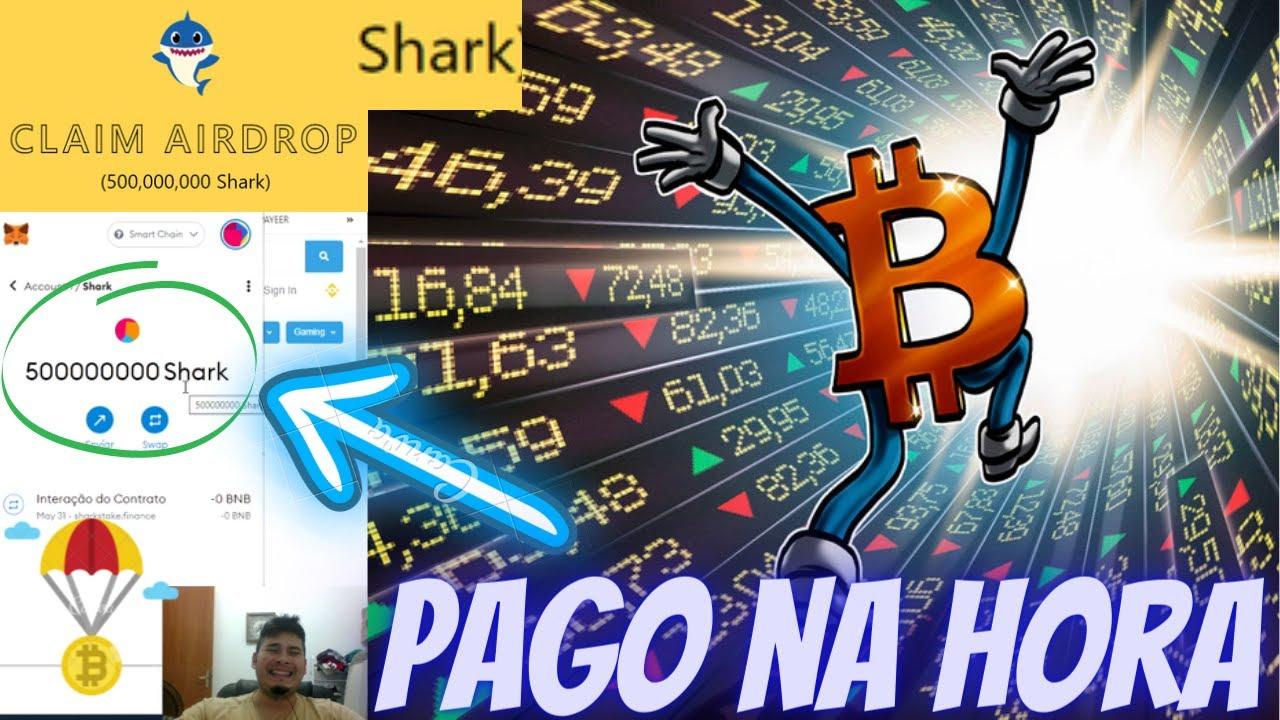 🚀Airdrop PAGO NA HORA Sharkstake Ganhe 500,000,000 tokens Shark listagem na pancakeswap 20 de junho