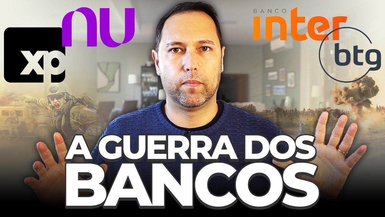 BANCOS DIGITAIS: BTG, XP, Banco Inter, Nubank, C6, Modal, é possível ganhar dinheiro com essa briga?
