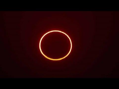 """Calendário astronômico de junho tem eclipse solar com """"anel de fogo"""""""