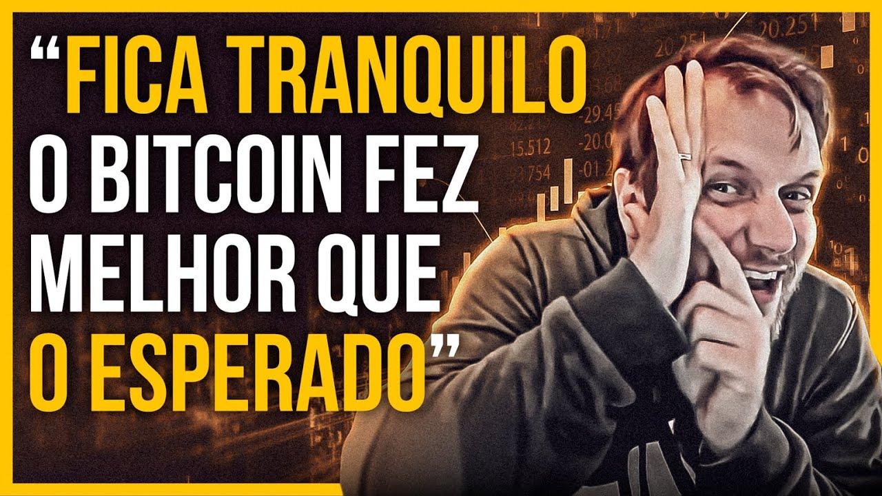 O BITCOIN Fez O MELHOR MOVIMENTO, Rumo ao BearTrap!| CAFÉ DO BITCAO #150