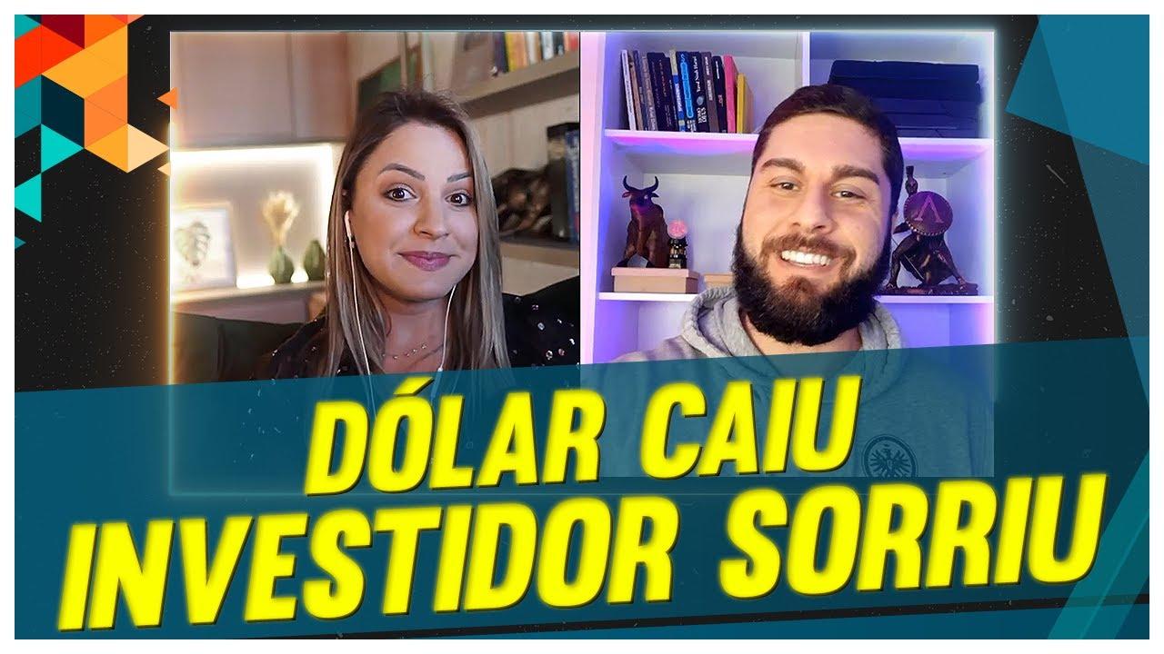 Última chamada! Queda do dólar abre oportunidades para dolarizar sua carteira   feat. @Rob Correa