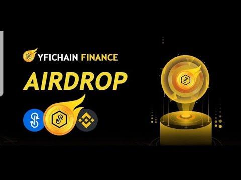 🚀Airdrop YFIChain Finance Ganhe ($20)0.2 YFIC + 0.02 por REF trustwallet/metamask PAGdia 5 de agosto