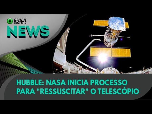 "Ao Vivo   Hubble: Nasa inicia processo para ""ressuscitar"" o telescópio  16/07/2021  #OlharDigital"