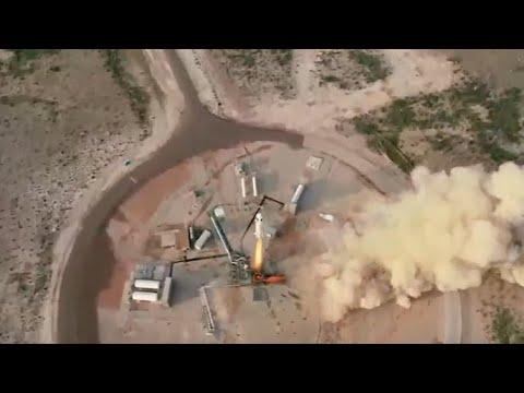 Jeff Bezos no espaço: veja o momento do voo da Blue Origin