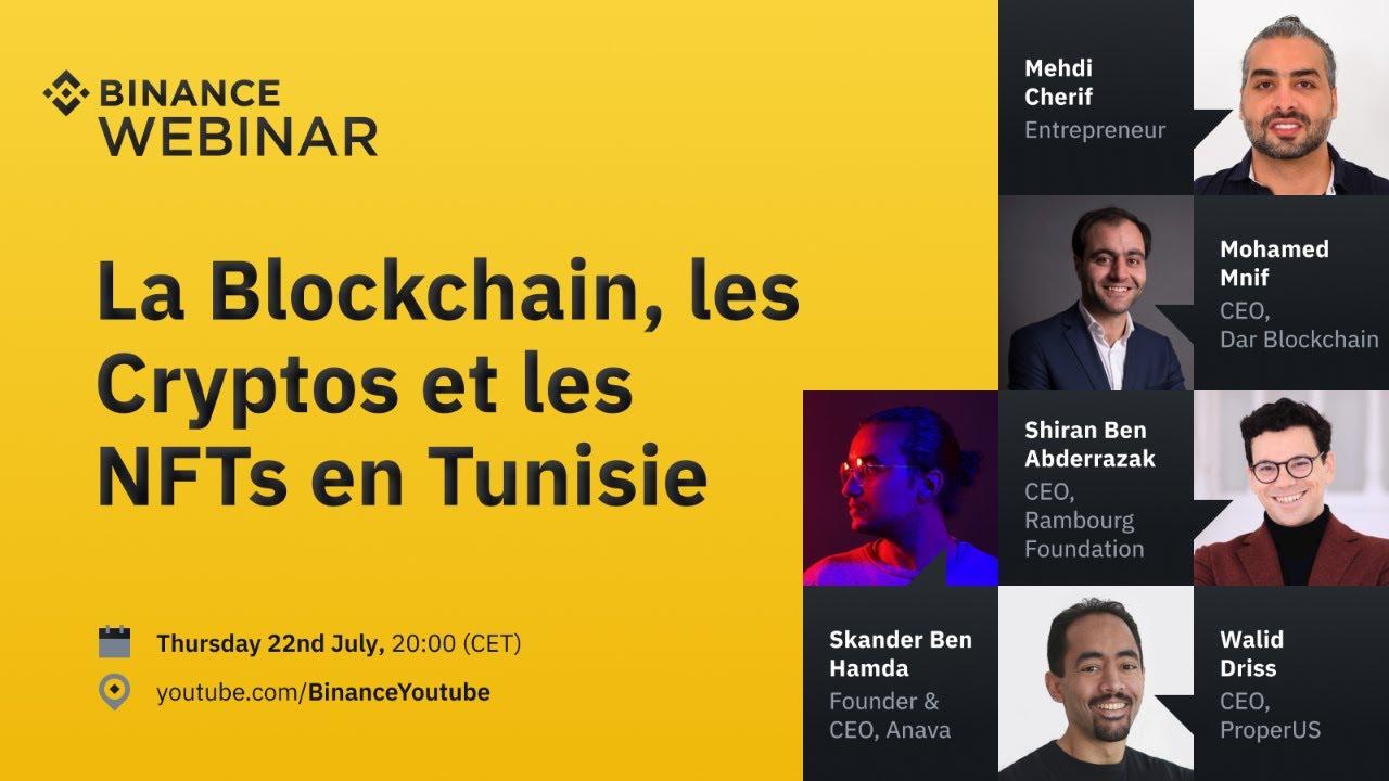 Les initiatives cryptos et NFT en Tunisie