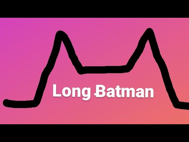 Long Batman pré treinamento