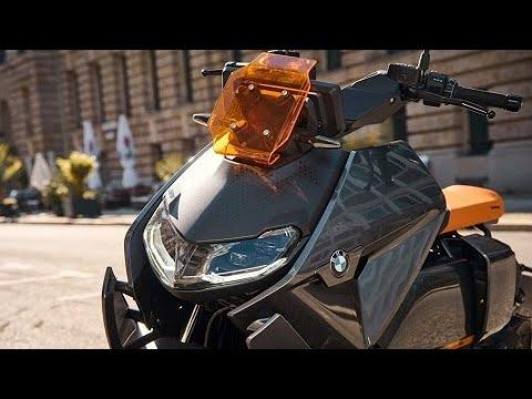 Nova scooter elétrica da BMW promete atingir 120 km/h