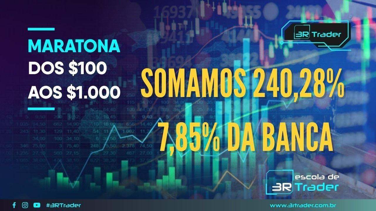 Resultado 3º Dia da Maratona Somamos 240,28% / 7,85% da Banca