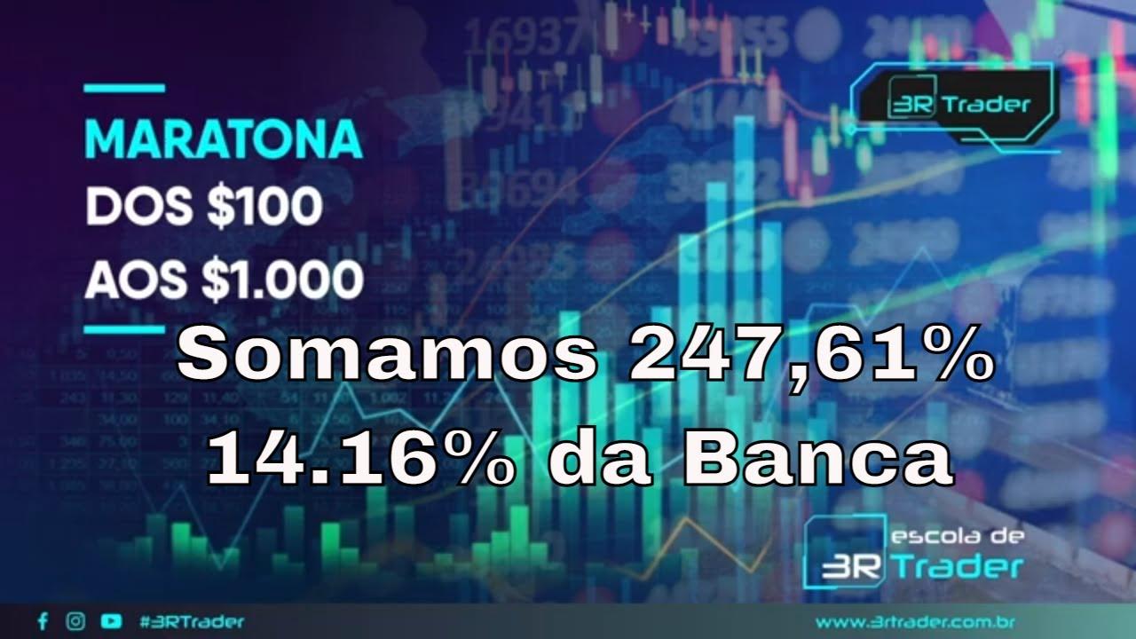 Resultado do 2º Dia da Maratona – Somamos 247,61% de Gain / 14,16% da Banca