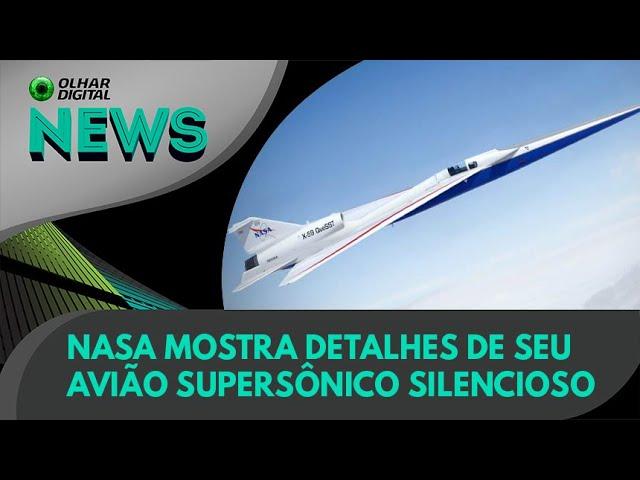 Ao Vivo | Nasa mostra detalhes de seu avião supersônico silencioso | 04/08/2021 | #OlharDigital