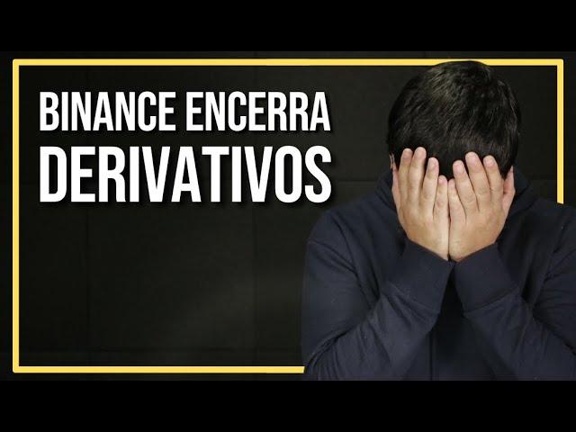 BINANCE DECIDE ENCERRAR MERCADO DE DERIVATIVOS EM ALGUNS PAÍSES