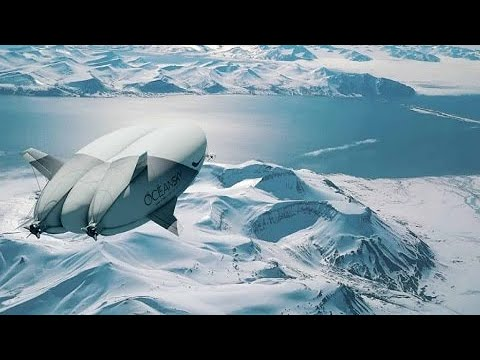 Dirigível de luxo promete levar turistas ao Polo Norte