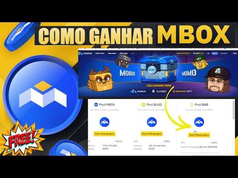 💡Ganhe MOBOX gratis na BINANCE [Launchpool OU bnb vault]💨 stake top para ganhar de boas MBOX✨