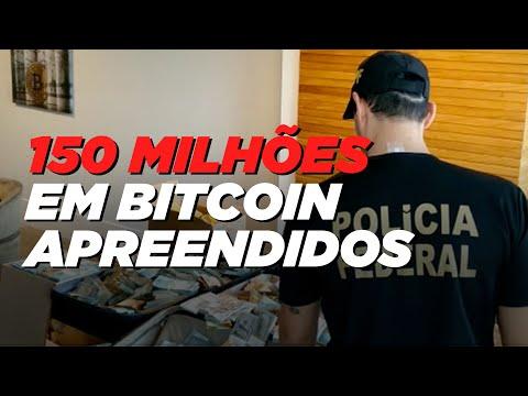 GAS Consultoria Bitcoin; Operação Kryptos originou a maior apreensão de BTC na história do Brasil