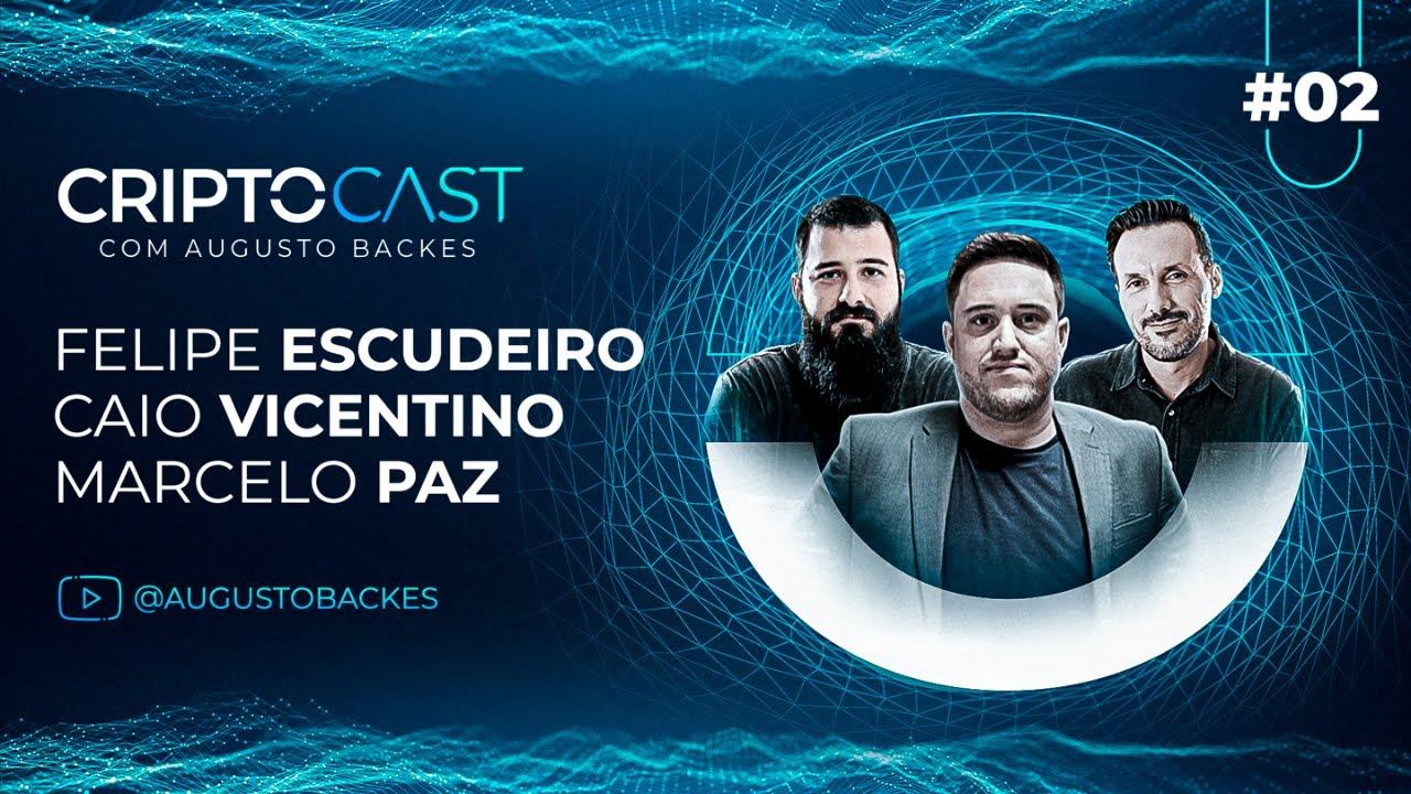 O FUTURO DO BITCOIN com CaioInveste, Felipe Bitnada e Marcello Paz | CRIPTOCAST #2
