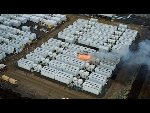 Tesla: baterias Megapack pegam fogo durante testes na Austrália