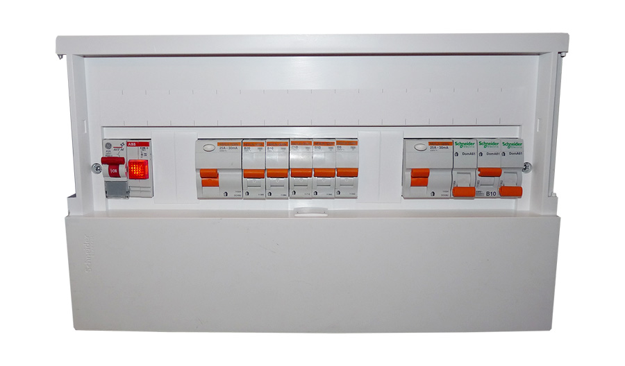 wylex split load consumer unit wiring diagram 1993 chevy s10 stereo units explained everything you need to know tradesmen break it down simply the is found at point where electrical supply enters your property from electricity meter
