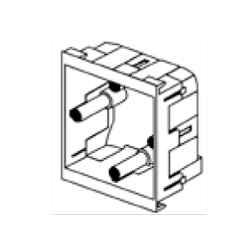 Rehau 202415 Socket Box 1Gang Adjustable