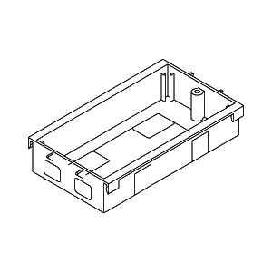 Rehau 242191 Socket Box 1 Gang 25mm