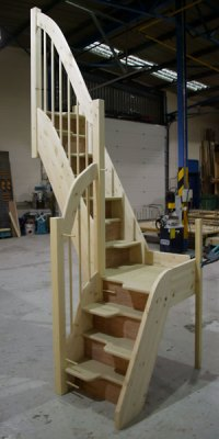 Space Saver Staircases from Tradestairs - Space saving ...