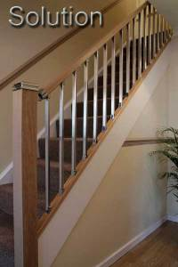 Wooden Stair Banisters And Railings