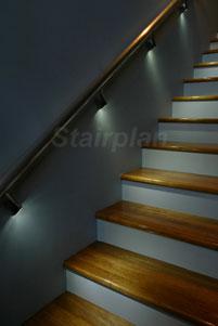 Illuminated Wall Handrail  Handrail Bracket Lights