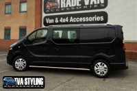 RENAULT TRAFIC SWB TX3 SAHARA ROOF RAILS SET EASY FIT 2014