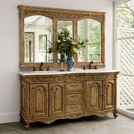 French Provincial Bathroom Vanities Been Looking For