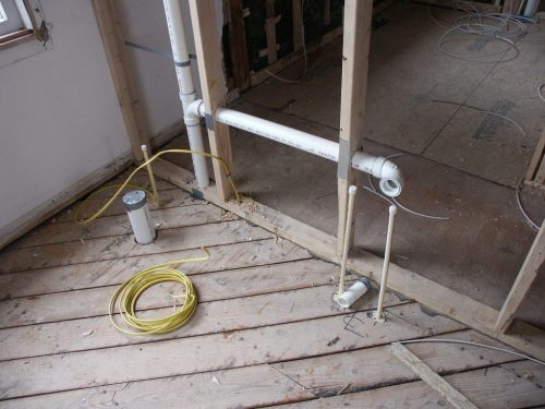 small resolution of pipe layout for your bathroom rough in
