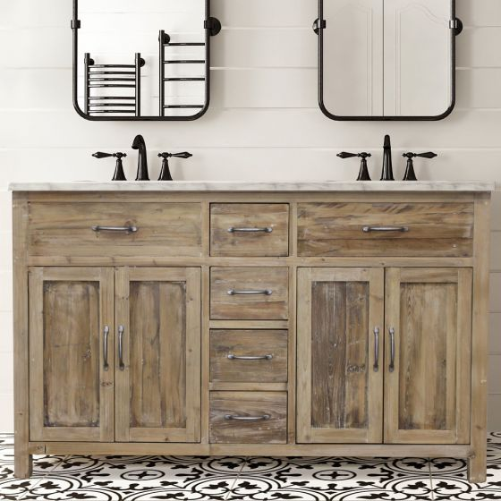 Distressing Techniques How To Distress Bathroom Cabinets And Vanities Bathroom Ideas And Inspiration The Tradewinds Imports Blog