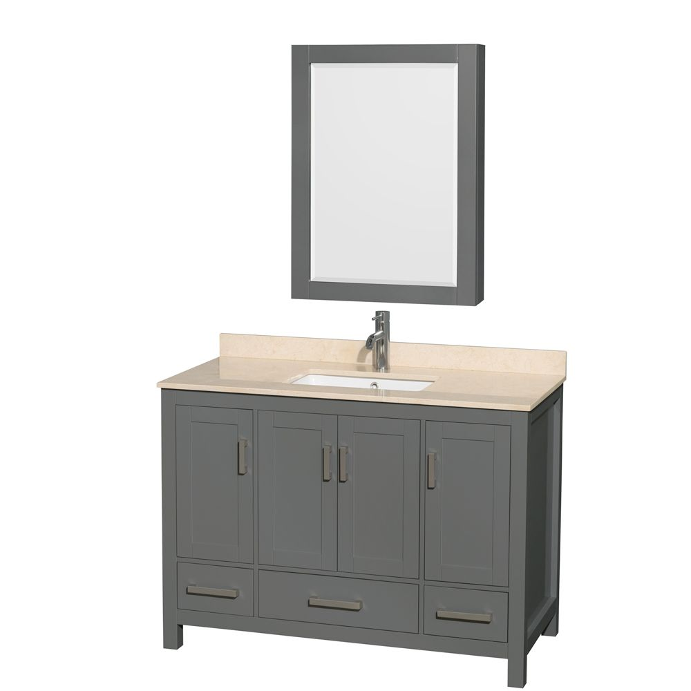 how to make a bathroom vanity taller