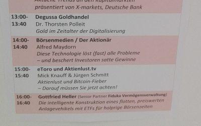 Social Investing auf dem Börsentag Berlin 2018