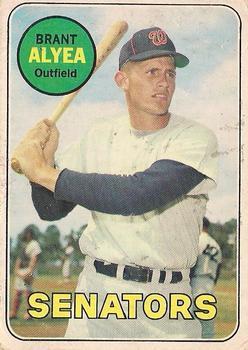 Image result for brent alyea 1969 baseball card image