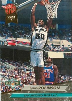 1992-93 Ultra #201 David Robinson Front